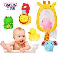 Beiens赤ちゃん風呂のおもちゃ浴室のおもちゃゴムアヒル水赤ちゃんメッシュアーリーラーニングトーキングハムスター風呂シャワーフローティング魚のおもちゃ子供