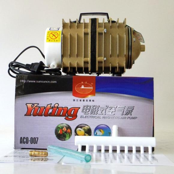 90L/min 120W SUNSUN YUTING ACO-007 Aquarium Aquaculture Electrial Magnetic Air Compressor Air Pump Air Blower