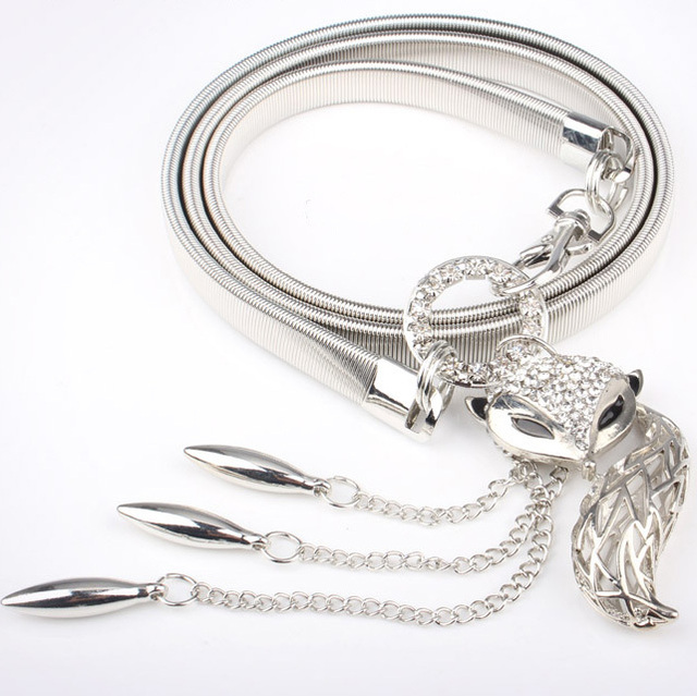 Festal Metal Belt for Woman