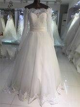 Real photo  very Sexy  Backless  flowers  romantic A Line  Wedding Dresses vestidos de noiva robe de mariage