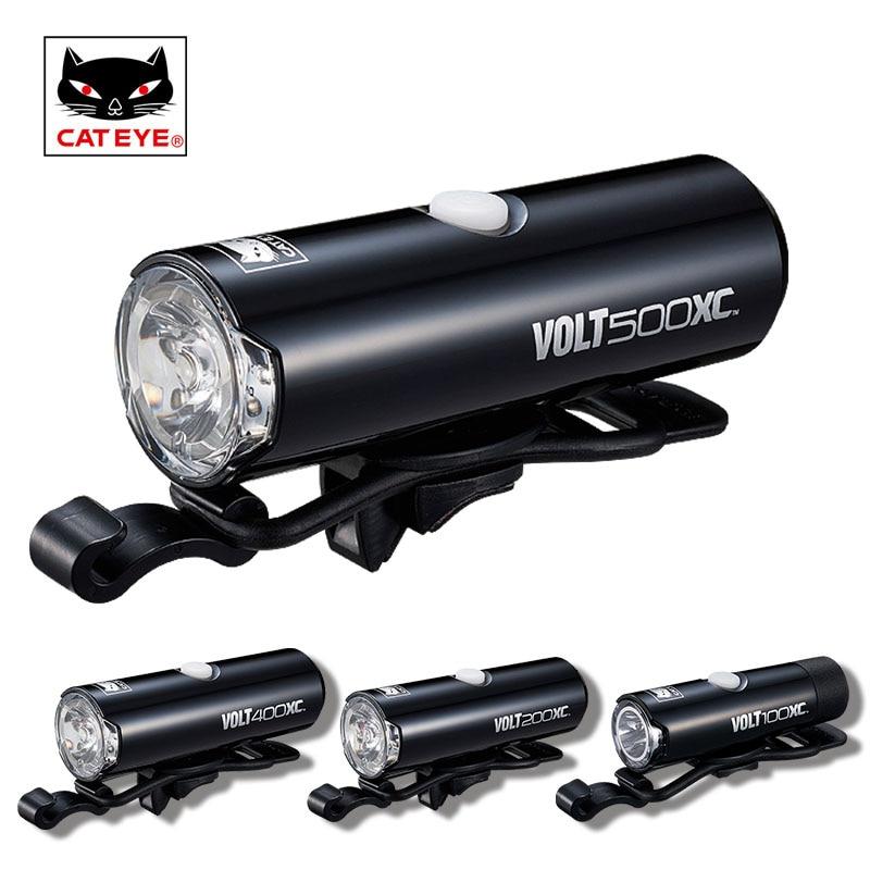 CATEYE Professional Bike Light Cycling Front Lamp Headlight USB Rechargeable Flashlight Lantern Waterproof Bicycle LED Lights