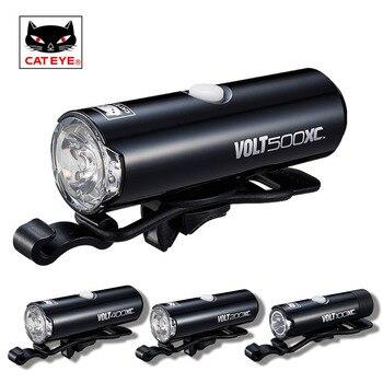 CATEYE professionnel vélo lumière cyclisme avant lampe phare USB Rechargeable lampe de poche lanterne étanche vélo LED lumières