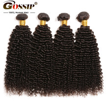 Kinky Curly Hair Bundles Human Hair Brazilian Hair Weave Bundles 8-30 Inch Human Hair Bundles Remy Extension 4 Bundle Deals(China)