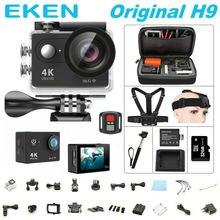 "EKEN H9/H9R remoto 100% Original Cámara de Acción 1080 P Ultra HD 4 K WiFi 2.0 ""170D Lente Casco cam go pro cámara Del Deporte a prueba de agua"