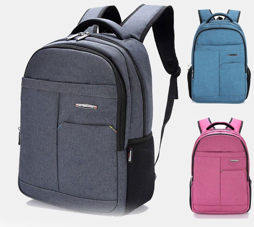 15 15.6 inch Nylon Computer laptop notebook bags Backpack case Durable for Macbook pro 15 Men Women Business School Travel