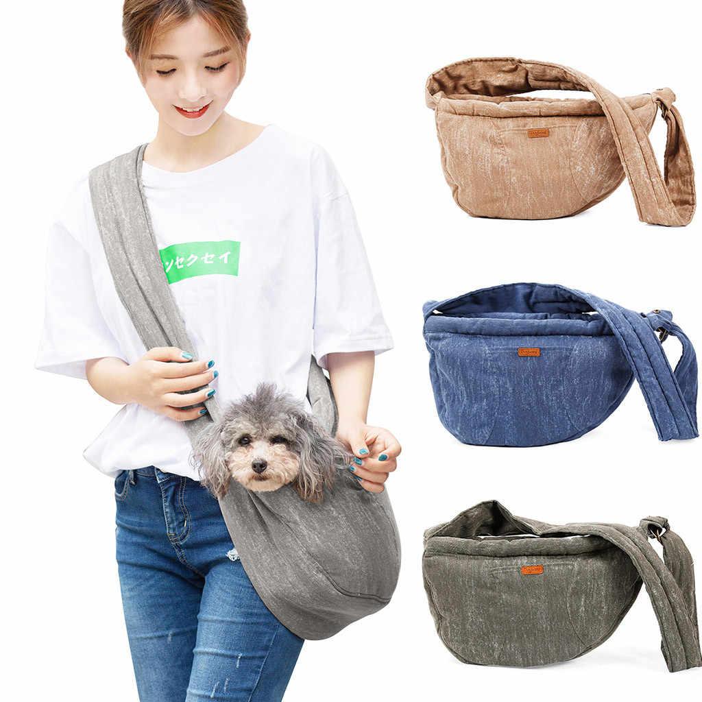 Transer пакеты для собак, синяя модная сумка для питомцев, переноска для кошек, дорожная сумка-тоут, сумки на плечо, для собак, слинг, дышащая сумка, 19May27 P35