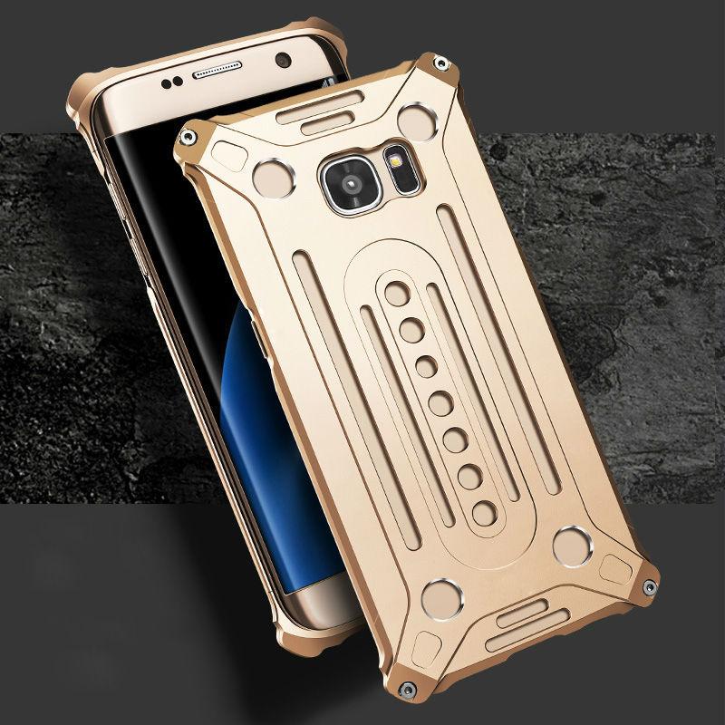 Противоударный металлический 2 в 1 чехол для Samsung <font><b>S7</b></font> жесткий Алюминий протектор телефон Обложка для Samsung Galaxy <font><b>S7</b></font> <font><b>Edge</b></font> с бесплатная Инструменты