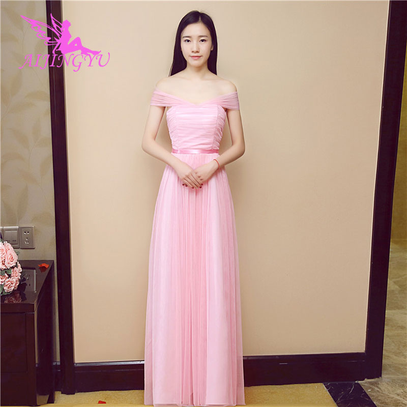 AIJINGYU 2018 hot elegant dress women for wedding party bridesmaid dresses BN733
