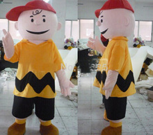 2015 New  charlie brown mascot costume fancy dress animal characters party costumes animal costume