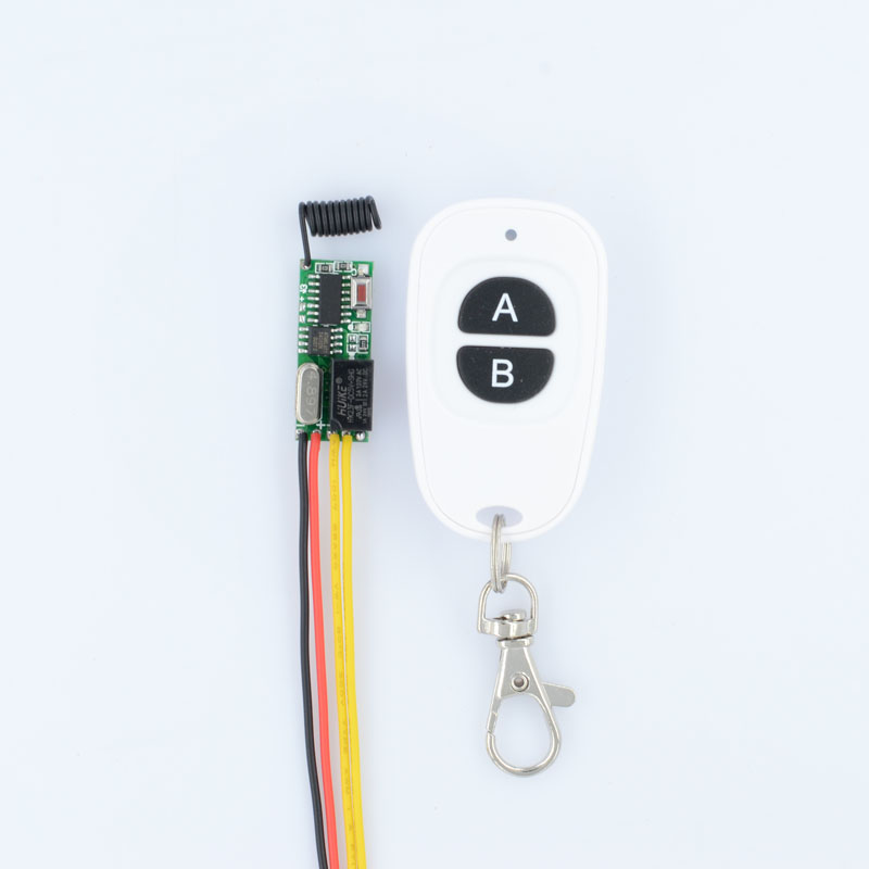 Wireless Mini Remote Control Switch 3V 5V 12V Micro Relay Switch Small Relay Receiver Transmitter Learning Code 433.92Mhz dc3v 3 7v 5v 6v 7v 9v 12v mini relay wireless switch remote control power led lamp controller micro receiver transmitter system