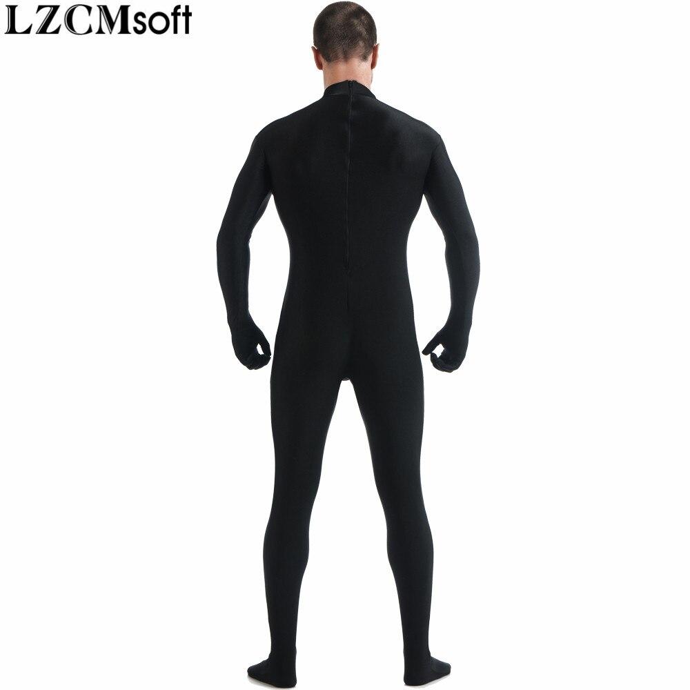 Back Zipper Zentai