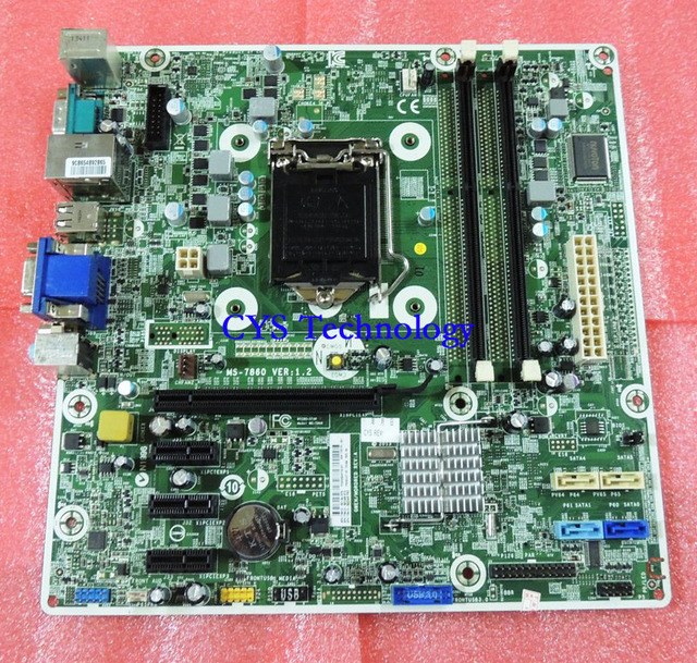 Free shipping CHUANGYISU for 400 G1 MT PC mainboard MS-7860 V1.2 718413-001 /501 718775-001 chipset H81 1150 work perfect