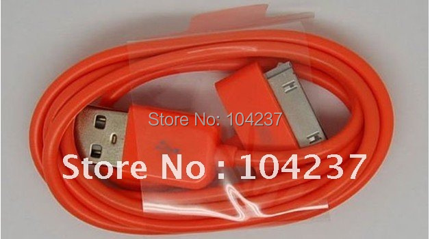 The new ,colorful USB cable for mobile phone ,1.0M Long Cable good quality ,10 pcs  a lot , free shipping for China post