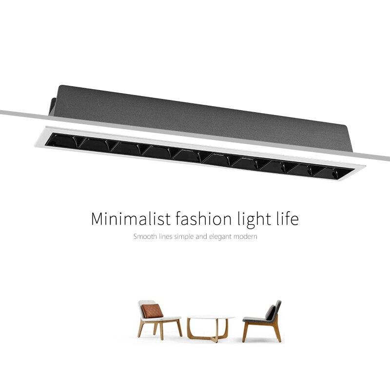 SCON 15 CM 7.5 W mini carré lumière led bar SDM Osram salle de réunion commerce bureau moderne mode CRI Ra> 85 linéaire mur à laver lampe
