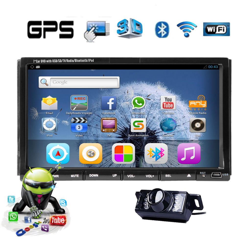Phone Media Player For Android Phone compare prices on android phone logo online shoppingbuy low 5 1 sub map fm 2din radio gps system car dvd pc stereo touch screen audio