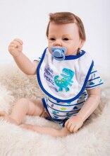 Boneca Viva Bebê Newborn Renascer Baby Dolls Silicone Macio Bonito Para As Meninas Princesa Kid Moda Bebe Reborn Bonecas 53 cm