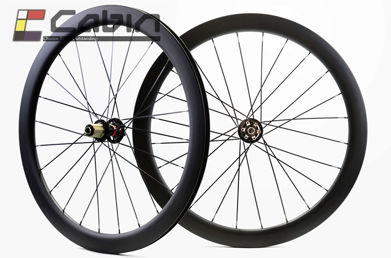 Outlet! 700C Road Disc Brake wheelset, 24/38/50/60mm 25mm width tubular/clincher cyclocross bike carbon wheel,U shape rim цена