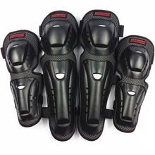 4 pc/s мотоциклетные наколенники и налокотники защитные наколенники для мотокросса, катания на коньках защитные шестеренки защитные подушечки