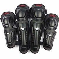 4 pc/s Motorrad knie & ellbogen schutz pads Motocross skating knie protektoren reiten schutz Gears pads schutz