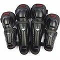 4 pc/s motocicleta joelho & cotovelo almofadas de proteção motocross patinação no joelho protetores equitação engrenagens proteção almofadas