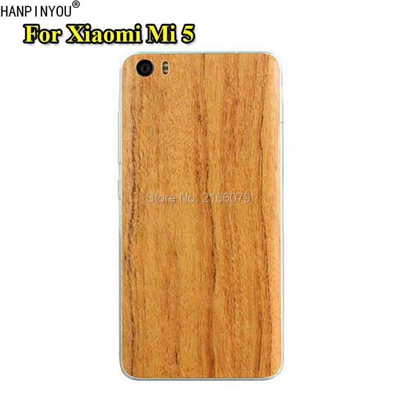 For Xiaomi Mi 5 Mi5 M5 5.15 New Fashion Full Body Cover 3D Imitation Wood Grain Protection Skin Decal Sticker