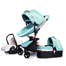 Free Shipping Babyfond Luxury Baby Stroller 3 in 1 2019 new color European