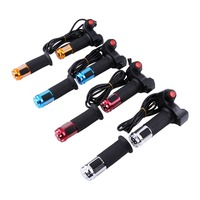 1Set Twist Throttle Accelerator With Led Digital Display Indicator Electric Bike Scooter Tricycle Grip Handlebar 7