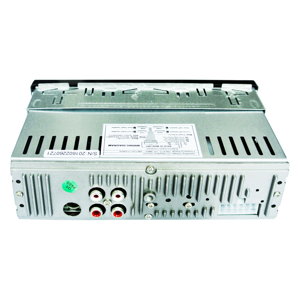 ENKLOV Car Radio Stereo MP3 Player Digital Bluetooth 45Wx4 FM Audio ...