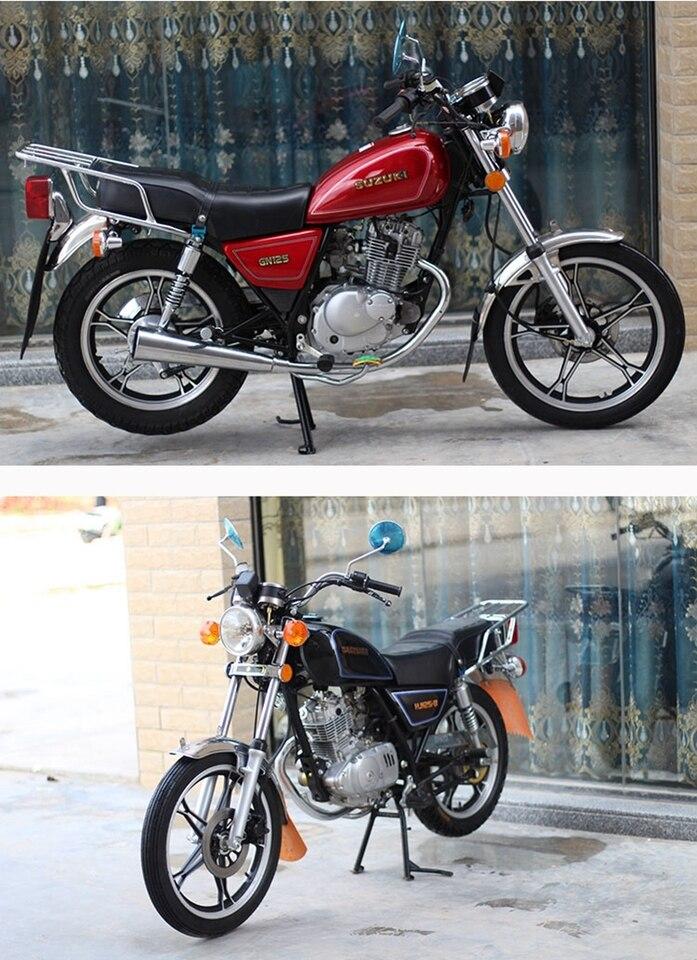 Front Disc /& Rear Drum Air Filter for 1990 Suzuki GS 125 ESL