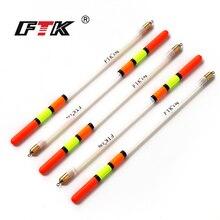 FTK 10PCS/LOT 1.5/2.2/2.5/2.6/3.0G Clear Plastic Fishing Float Carp / Coarse Fishing Floats Tube Mix Sizes