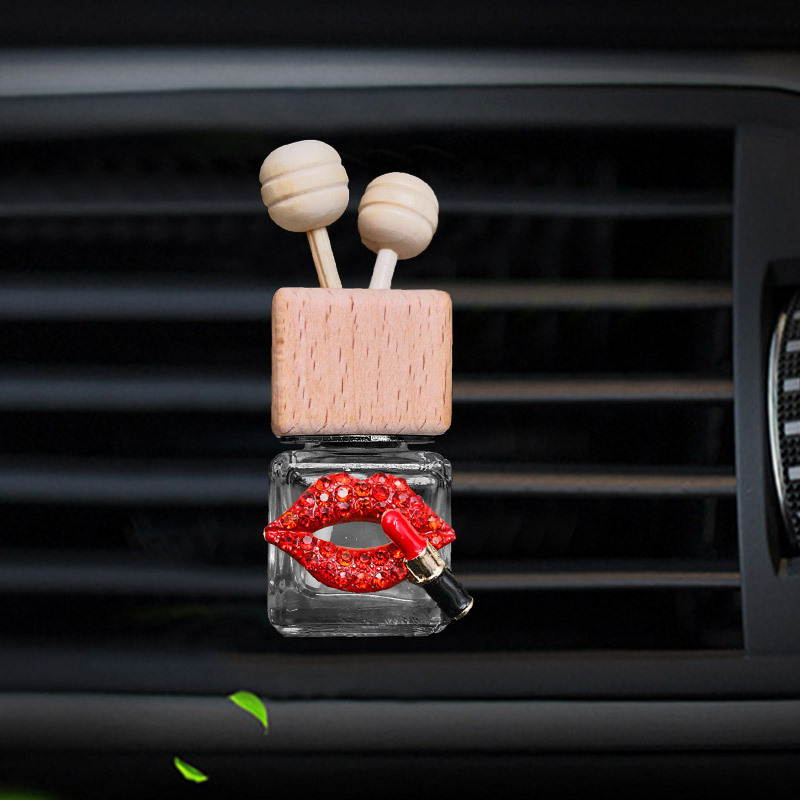 car air freshener perfume for air conditioner outlet auto Perfume clip Lipstick perfume bottle hanging diffuser in air freshener in Air Freshener from Automobiles Motorcycles