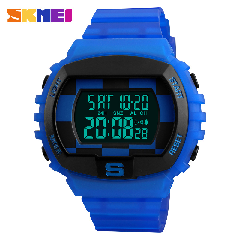 SKMEI Men Sports Watches Multifunction Countdown Chrono Fashion Watch Waterproof Digital Wristwatches Relogio Masculino skmei sports watches men outdoor shock chrono military watch dual time waterproof led digital wristwatches relogio masculino