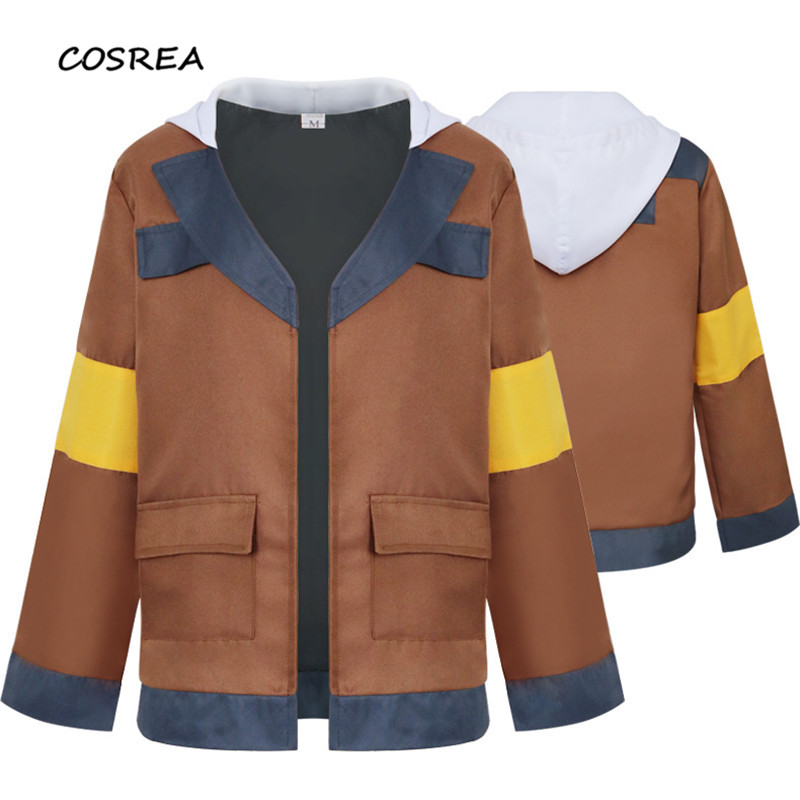 Cosplay Costumes Voltron: Defender of The Universe Hank Fashion Jacket Coat Halloween Carnival for Adults Girls Women Costumes