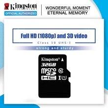 Оригинальная kingston Micro SD карта 16 ГБ 32 ГБ 64 Гб MicroSD карта памяти класс 10 TF карта MicroSDHC UHS-1 для смартфонов