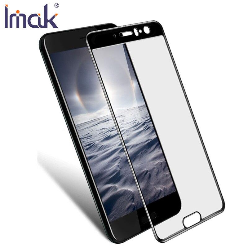 Protecteur d'écran la sfor HTC U11 Verre Trempé IMAK 2.5D Plein Colle Couvercle Plein Écran Pour HTC U11 De Protection En Verre