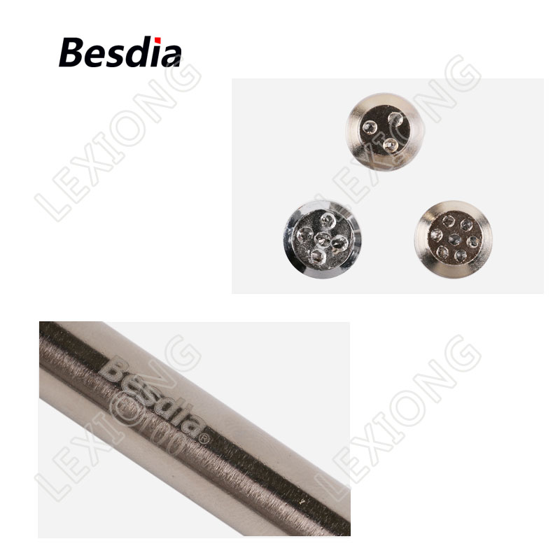 TAIWAN Besdia Diamond Dressing Tools Mole diamantate Multi Point - Utensili abrasivi - Fotografia 3