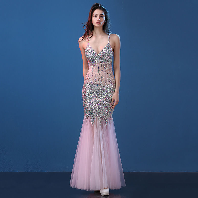 Deep v cocktail dress girls