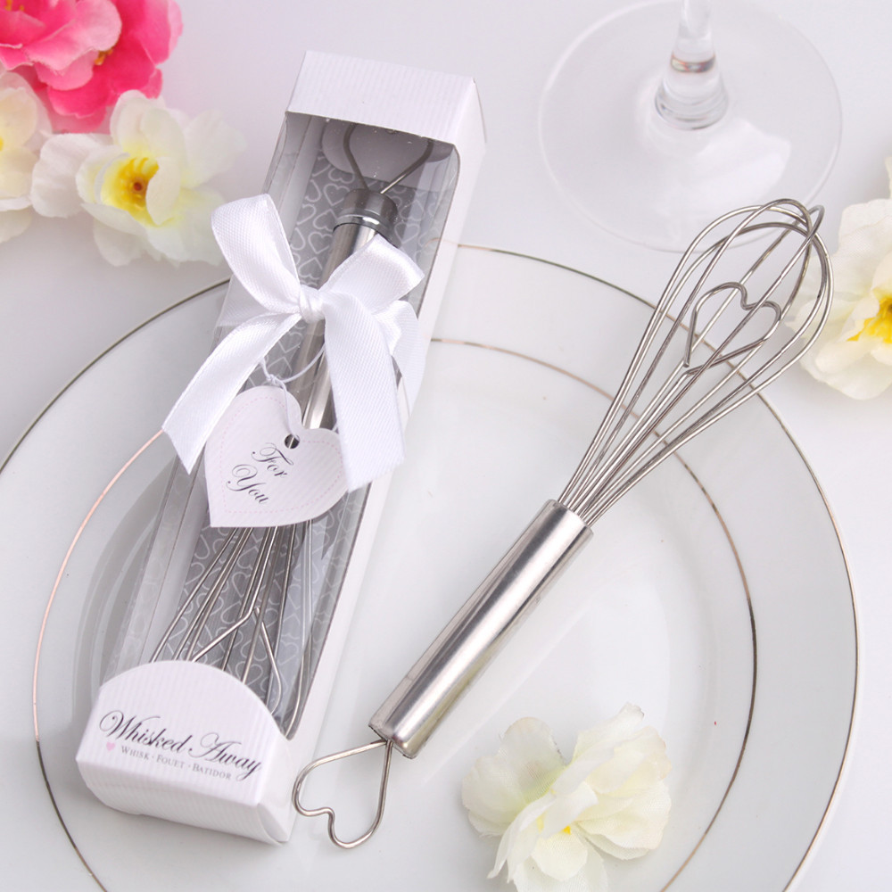 Stainless Steel Heart Shape Hand Whisk Egg Beater party supplies ...