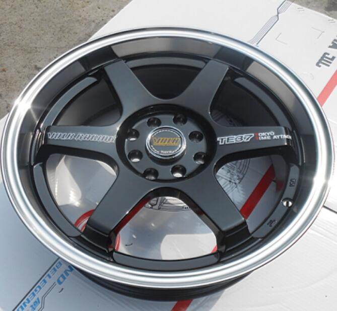 Rims On Car App >> TE37 16x7.0 4x100 4x114.3 5x100 5x105 5x108 5x110 5x112 5x114.3 Car Alloy Wheel Rims -in Wheels ...