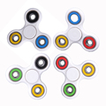 3 Colors Tri-Spinner Fidget Toys Plastic EDC Hand Spinner for Autism and ADHD Fidget Spinner Adult Toys