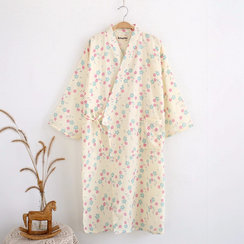 womens bathrobe cotton
