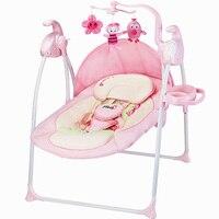Babyfond Пособия по немецкому языку детское кресло качалка для Электрическое Кресло Качалка чтобы успокоить колыбель кровать Ptbat кресло качалк