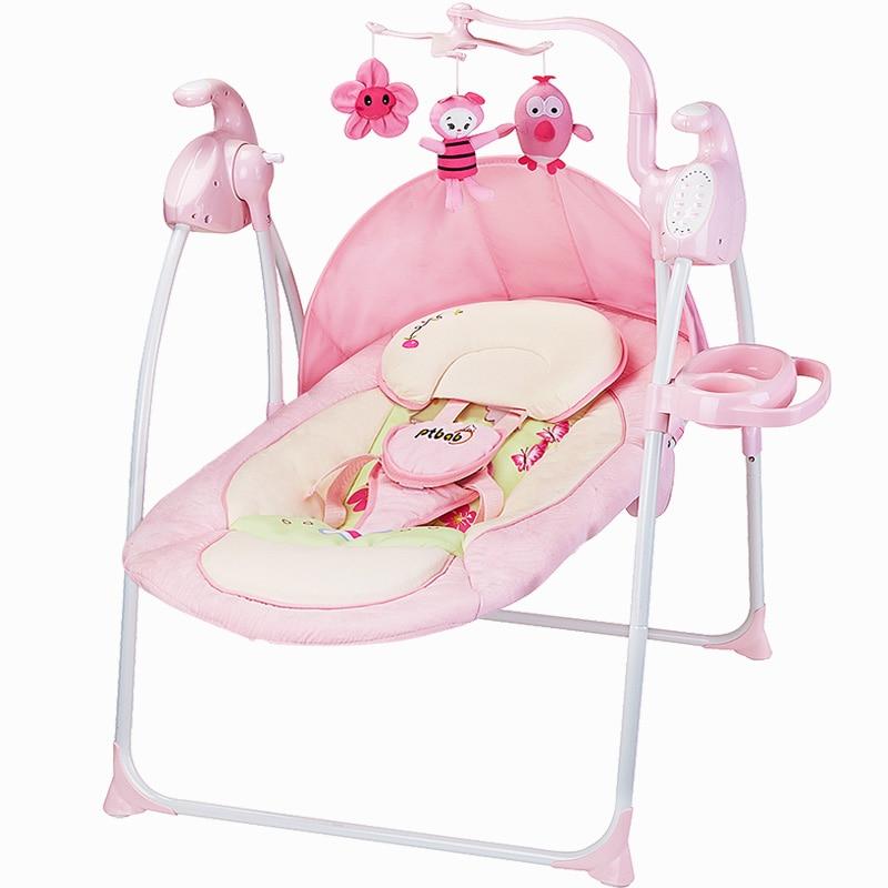 Babyfond chaise berçante allemande bébé chaise berçante électrique pour apaiser le lit de berceau chaise berçante Ptbat