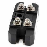 1 PZ MDQ 100A Amp 1600 V Volt Monofase Diodo Raddrizzatore A Ponte Cassa del Metallo Del Silicone di Componenti Elettronici, Moduli e forniture