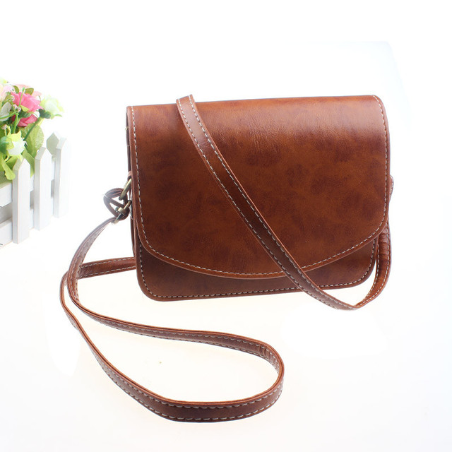 e2c4099872c US $5.78 35% OFF|Women Imitation leather Shoulder Bag Satchel Handbag Retro  Messenger Women Shoulder Bag Handbag Famous Brand-in Shoulder Bags from ...