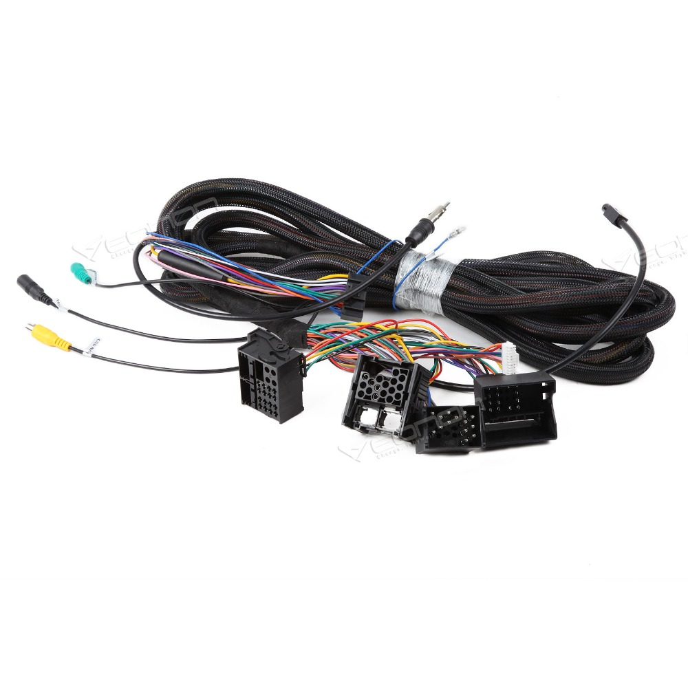 Wiring Harness 6m Power Radio Extension Cable For Our Android 80 4 Wire A0579 Bmw Extended 17pin 40pin Ga6150 Ga6166 Ga6201