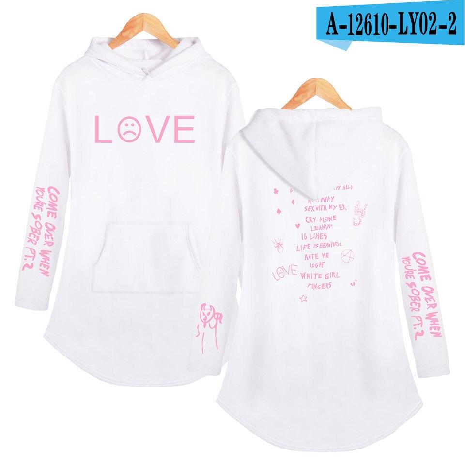 lil peep love Hoodies Sweatshirt Classic K Pop Personality Casual Sport shirt Pocket Summer Autumn Long sleeve Streetwear 15