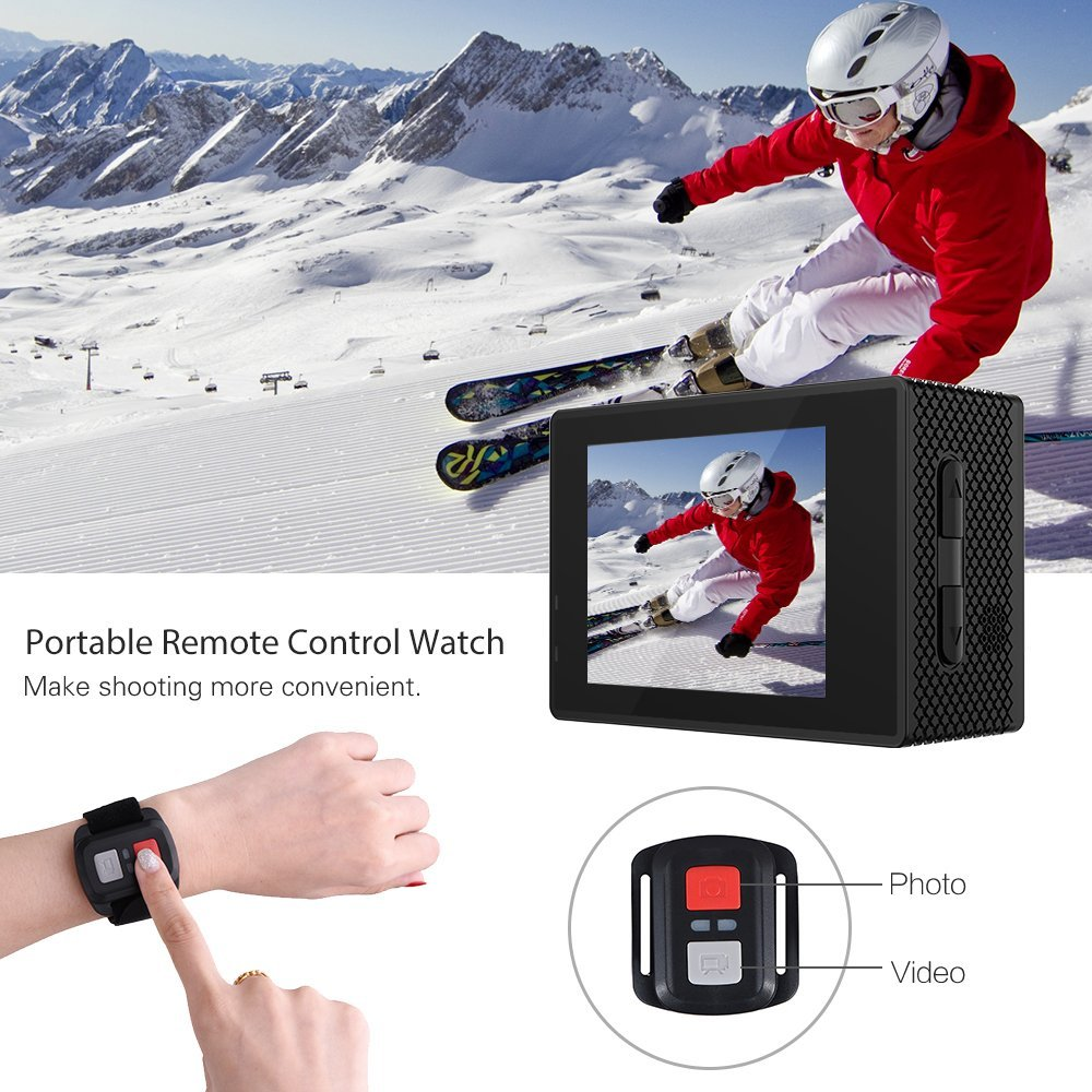 RICH Action Digital Camera M952 HD 1080P Digital Sports DV Photo Cam Waterproof underwater 30M 2.0 Inch Screen Mini Video Cam