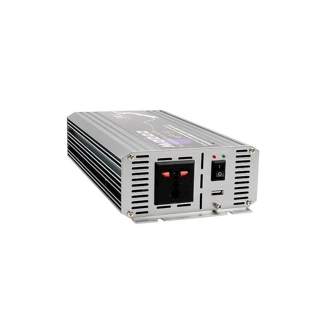 New Arrive 2000W Power Inverter 12V DC 220V Pure Sine Wave USB to AC 220V Solar Power Inverter Peak Power 4000W Free Shipping 4