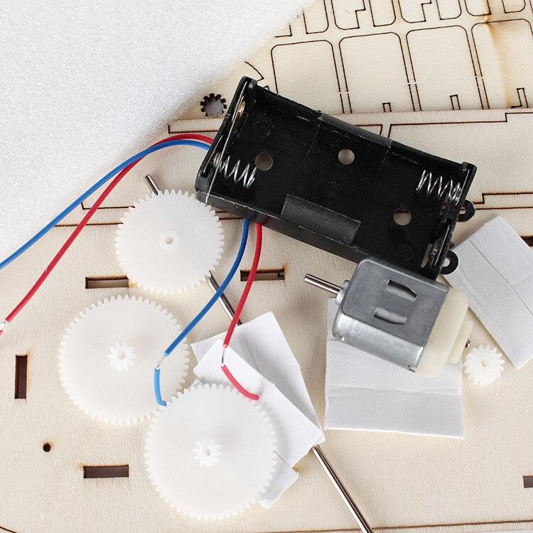 Pequeña tecnología DIY Ship Science Experiment Juguete educativo - Juguetes de construcción - foto 5